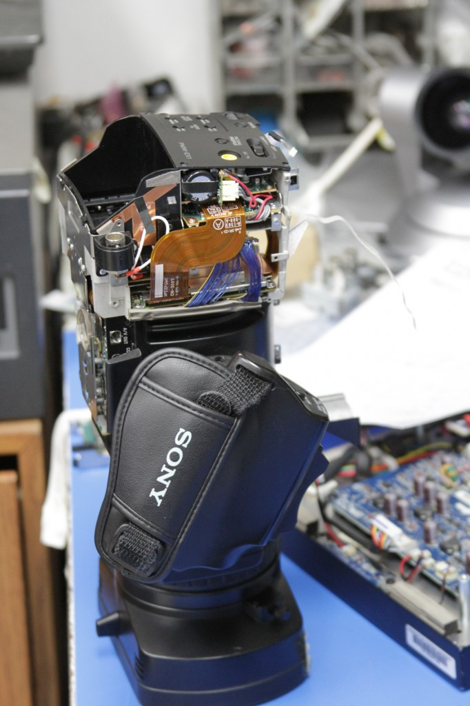 Sony ENG camcorder repair