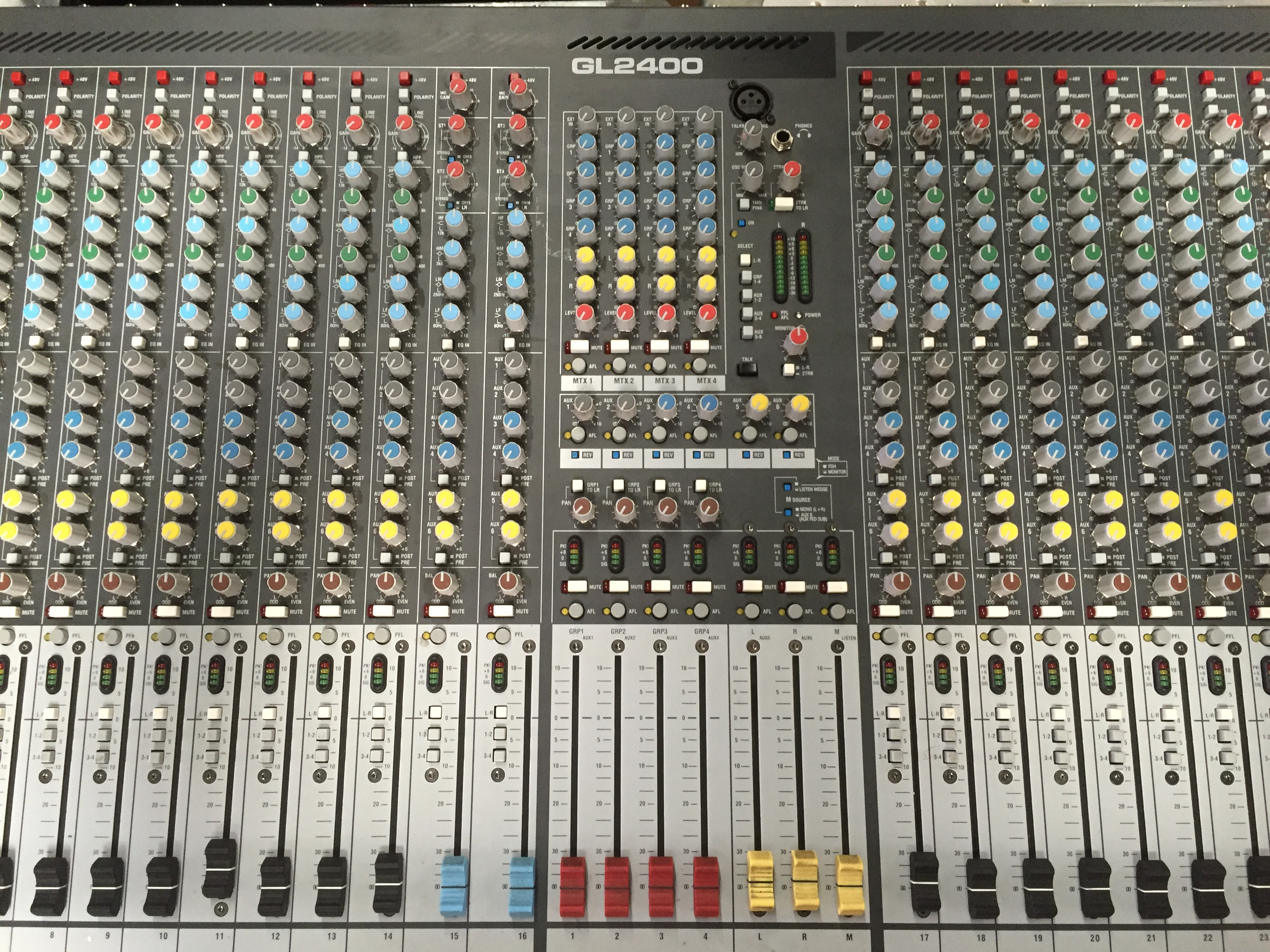Allen Heath GL 2400 Mixer Repair
