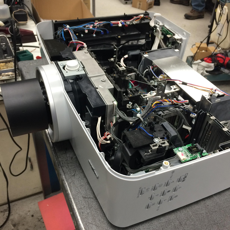 Projector Lamp Repair