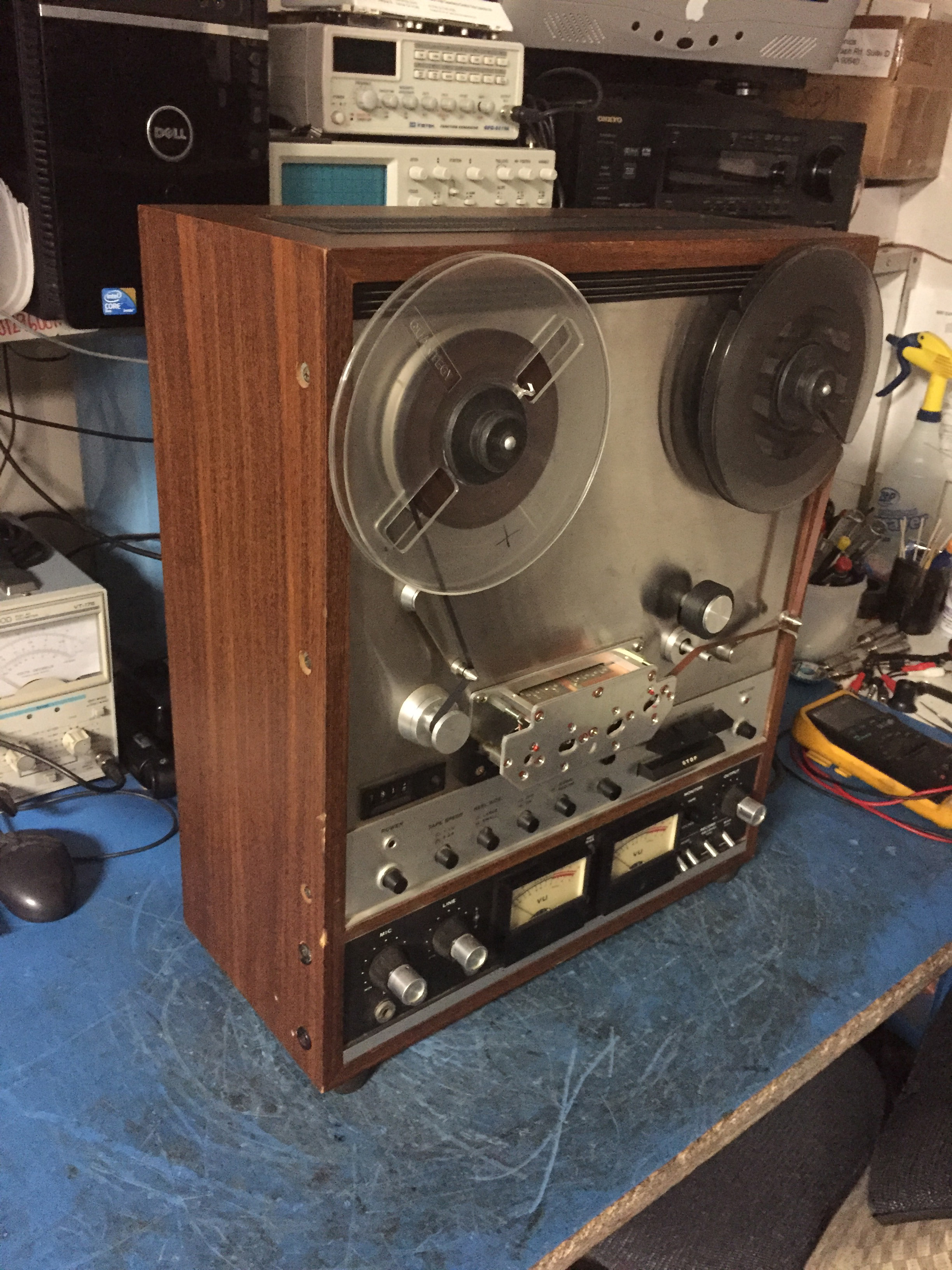 Revival Of Reel To Reel Digitron Repairs For